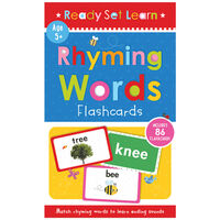 Ready Set Learn: Letter Sounds Phonics Flashcards