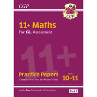 11+ GL Maths Practice Papers: Ages 10-11