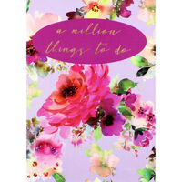 Lilac Bloom Things To Do Notes Pad