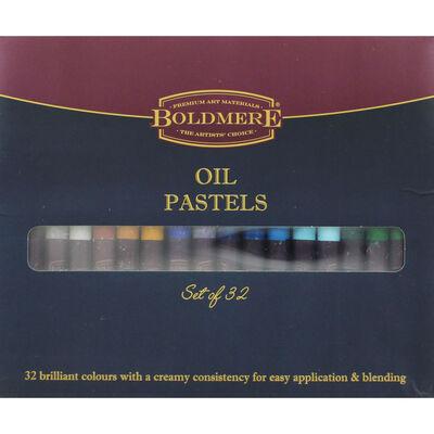 Boldmere Oil Pastels - Set of 32 image number 1