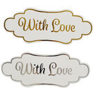 Dovecraft Essentials Die Cut Toppers - With Love - 12 Pack image number 2