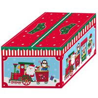 Santa Christmas Boxes: Pack Of 3