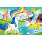 Unicorns 3-in-1 48 Piece Jigsaw Puzzle Set image number 4
