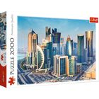 Doha Qatar 2000 Piece Jigsaw Puzzle image number 1