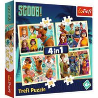 Scooby Doo 4-in-1 Jigsaw Puzzle Set