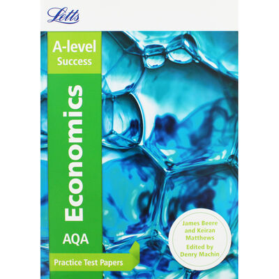 Letts A-Level Success: AQA Economics Practice Test Papers image number 1