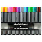 Art Therapy Colouring Book & Scribblicious Coloured Pens Bundle image number 2