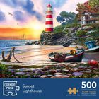 Sunset Light 500 Piece Jigsaw Puzzle image number 1
