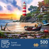 Sunset Light 500 Piece Jigsaw Puzzle