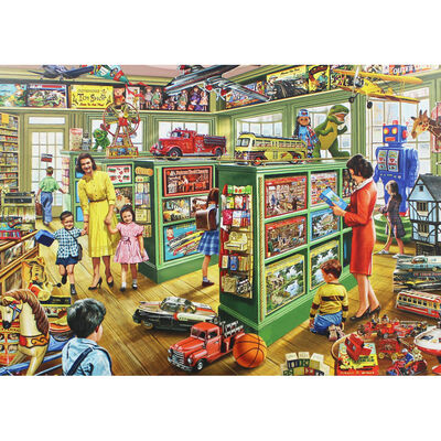 Toy Shop 1000 Piece Jigsaw Puzzle image number 2