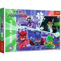 100 Piece PJ Masks In Action Jigsaw Puzzle