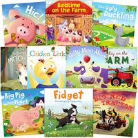 Farm Friends: 10 Kids Picture Books Bundle