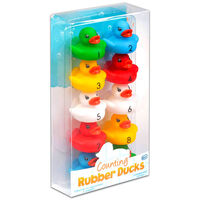 Counting Rubber Ducks: Pack of 10