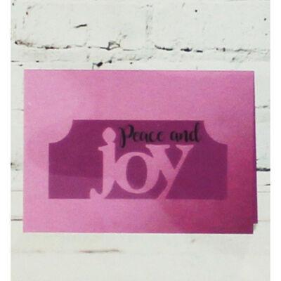 Gemini Stamp and Metal Die Set - Joy image number 3