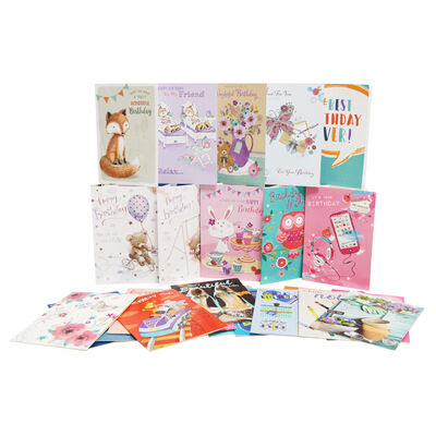 Box Of 576 Assorted Greeting Cards - 12x48 Designs image number 1