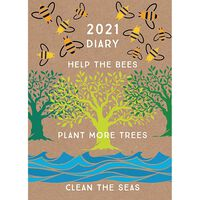 A5 Help The Bees 2021 Week To View Diary