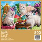 Kitten Tea Party 500 Piece Jigsaw Puzzle image number 3