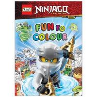 Lego Ninjago: Fun to Colour