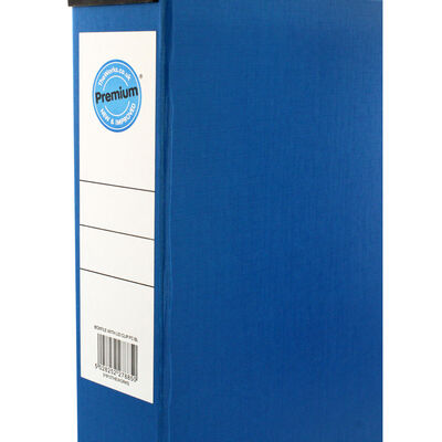 Blue Box File with Lid Clip image number 2