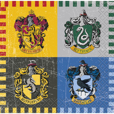 Harry Potter Small Paper Napkins - 16 Pack image number 1