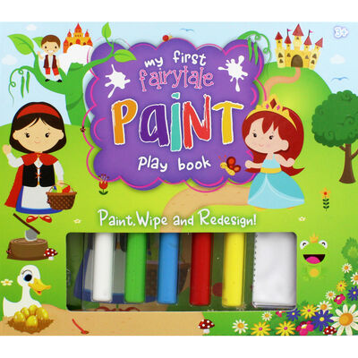 My First Fairytale Paint Play Book image number 1
