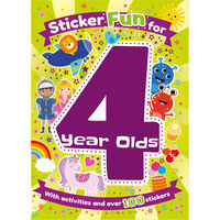 Sticker Fun for 4 Year Olds