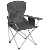 Summit Quebec Folding Chair Grey