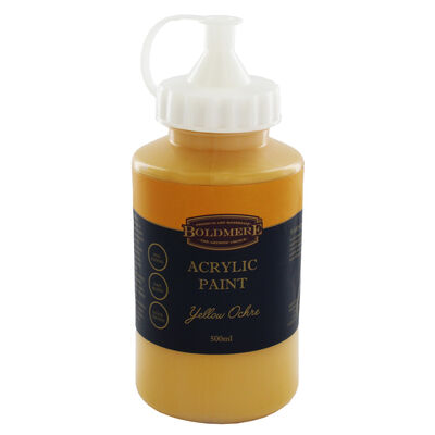 Yellow Ochre 500ml Acrylic Paint image number 1
