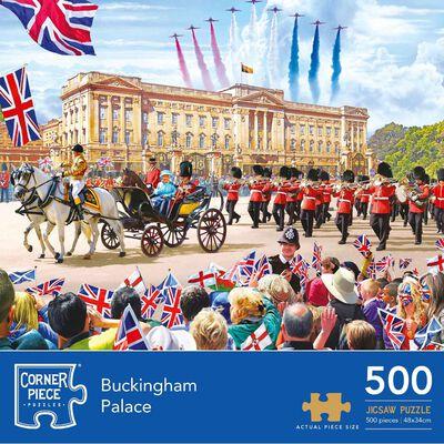 Buckingham Palace 500 Piece Jigsaw Puzzle image number 1