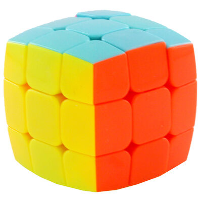 Rounded Edge Neon Magic Cube image number 2