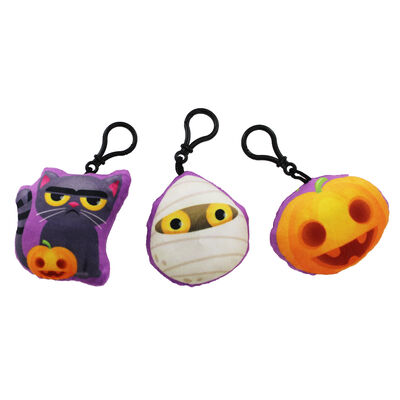 Novelty Spooky Halloween Keyring with Sound - Assorted image number 2
