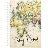 A6 Going Places Lined Notebook