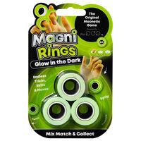 Glow in the Dark Fidget Pop & Magni Rings Bundle