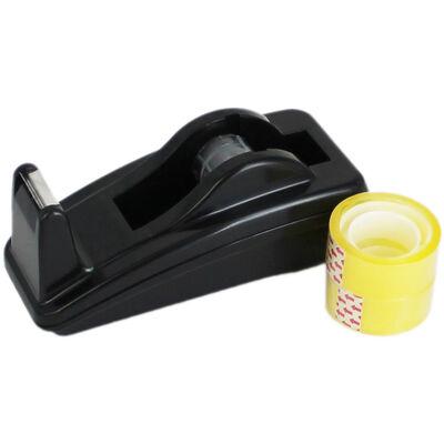 Black Tape Dispenser and Tape image number 1