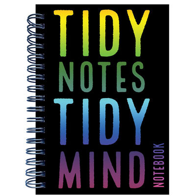 A6 Tidy Notes Tidy Mind Wiro Notebook image number 1