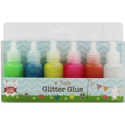 Easter Glitter Glue - 6 Pack image number 1