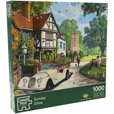 Sunday Drive 1000 Piece Jigsaw Puzzle image number 1