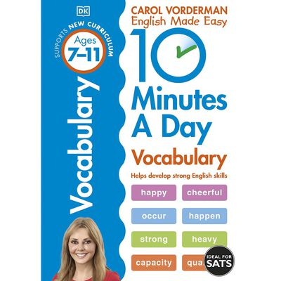 10 Minutes A Day Vocabulary: Ages 7-11 image number 1
