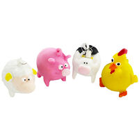 Farm Animal Squeezy Poopers - Assorted