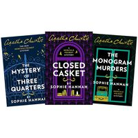 The New Hercule Poirot Mysteries: 3 Book Collection