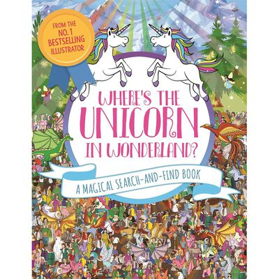 Where's the Unicorn in Wonderland? A Magical Search-and-Find Book image number 1