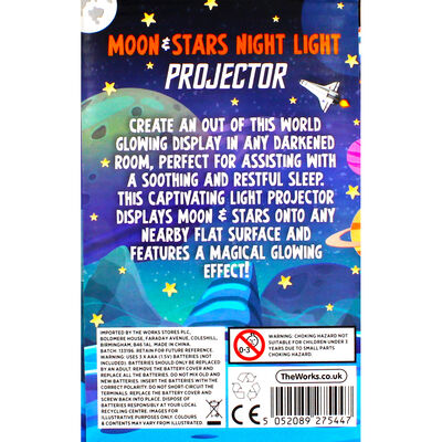 Moon and Stars Projector Night Light image number 4