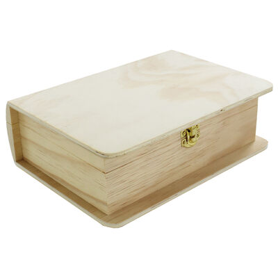 Wooden Book Box image number 1