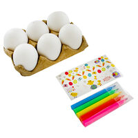 Decorate Your Own Easter Eggs - 6 Pack