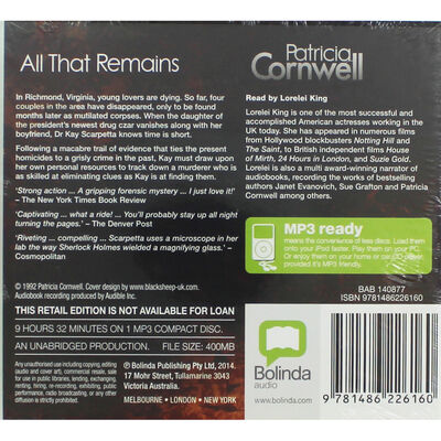 All That Remains: MP3 CD image number 2