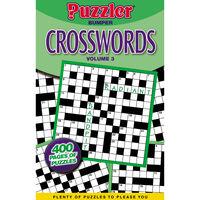 Puzzler Bumper Crossword Book