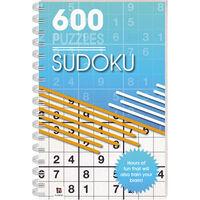 Sudoku: 600 Puzzles