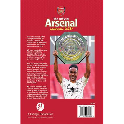 The Official Arsenal Annual 2021 image number 3