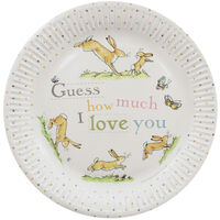 Guess How Much I Love You Party Paper Plates - Pack of 8