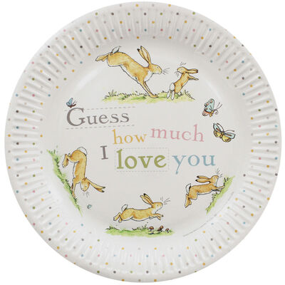 Guess How Much I Love You Party Paper Plates - Pack of 8 image number 1